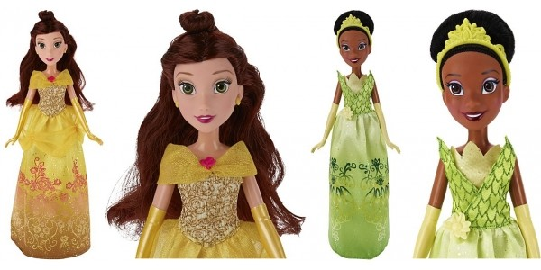 Disney Princess Shimmer Dolls Belle & Tiana Half Price @ Asda