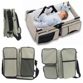 3 in 1 Changing Bag, Cot & Changing Mat