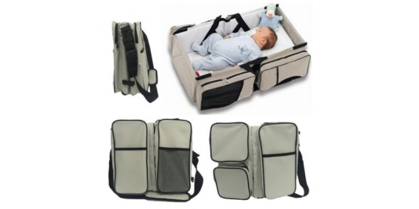 3 in 1 Changing Bag, Carry Cot and Changing Station £45.99 Delivered @ Amazon