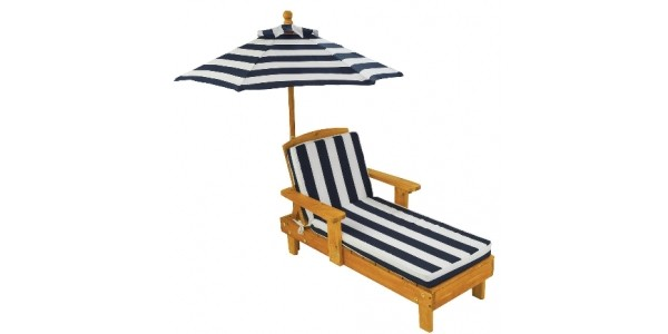 Kidkraft Child's Chaise Lounger With Umbrella Now £84.99 @ Very