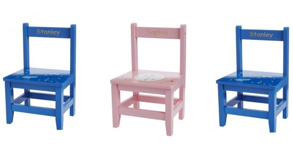 Children's Personalised Wooden Chairs £9.99 Delivered @ Studio