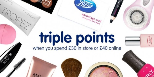 Triple Points Event @ Boots