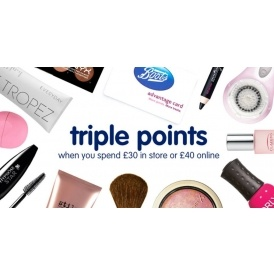Triple Points @ Boots