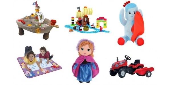 Bank Holiday Event: Up To Half Price On Selected Toys @ Tesco Direct