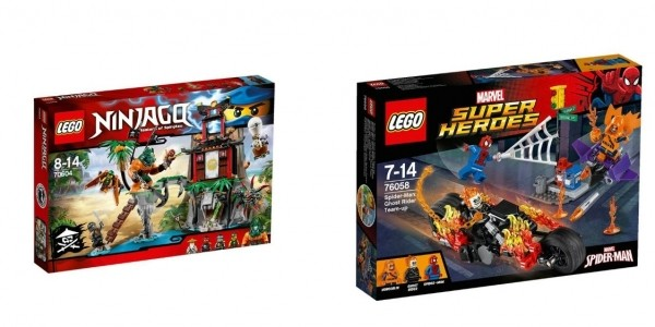 20% Off LEGO Disney Frozen, Ninjago & Superheroes Plus £5+ Off Plus FREE Delivery @ Smyths (Expired)