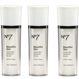 Three No7 Radiance Boost For £14