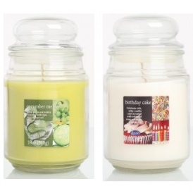 2 Large Jar Scented Candles For £5