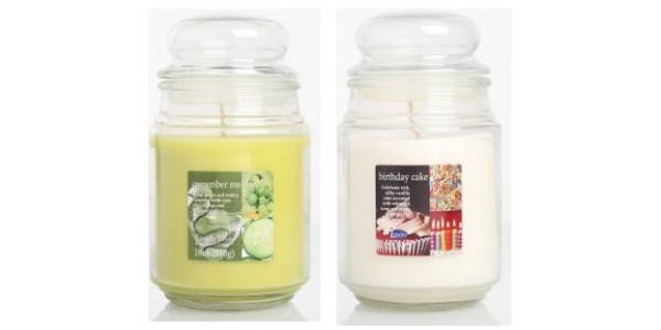 2 Large Jar Scented Candles For Just £5 (was £20) @ Clintons