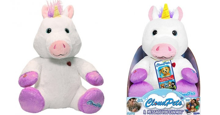 80% Off Cloud Pets Interactive Soft Toy Unicorn @The ...
