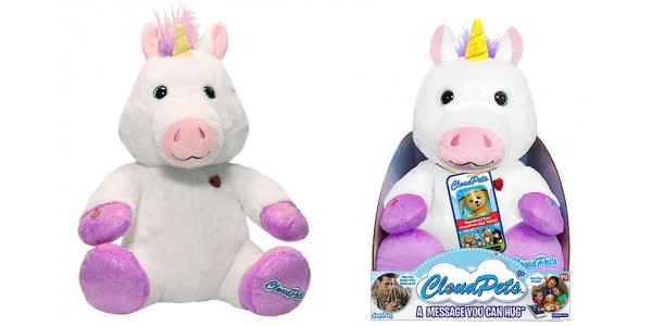 80% Off Cloud Pets Interactive Soft Toy Unicorn @The Entertainer