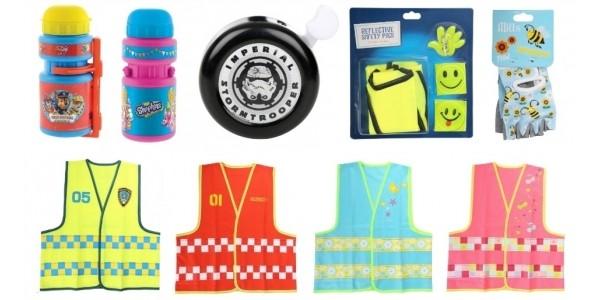 Safety & Bike Accessories £1 @ Halfords