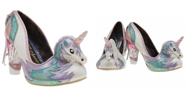 Womens Irregular Choice Dreamkiss Unicorn Heels @ Schuh