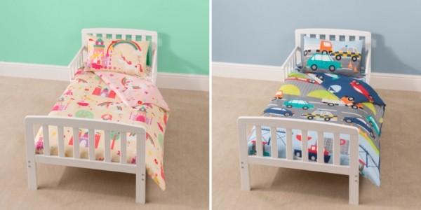 Toddler Bed Bundles: Bed, Mattress, Duvet, Pillow & Bedding £99 @ Asda George