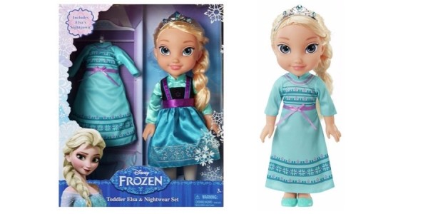 Frozen Elsa Toddler Doll & Nightwear Set £12.99 (was £29.99) @ Argos