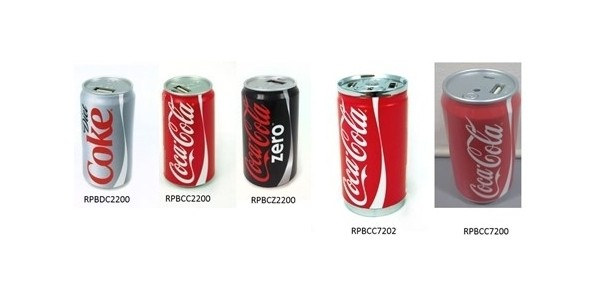 Urgent Recall: Coca-Cola Power Banks