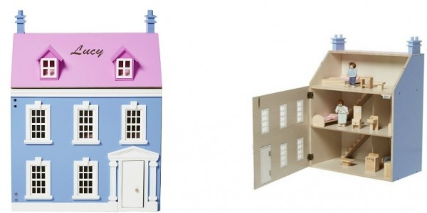 Personalised Wooden Doll's House £34.99 @ Studio