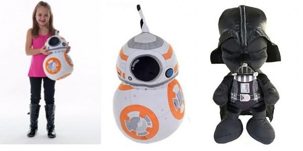 70% Off Star Wars Darth Vader / BB8 Soft Toys @ Debenhams
