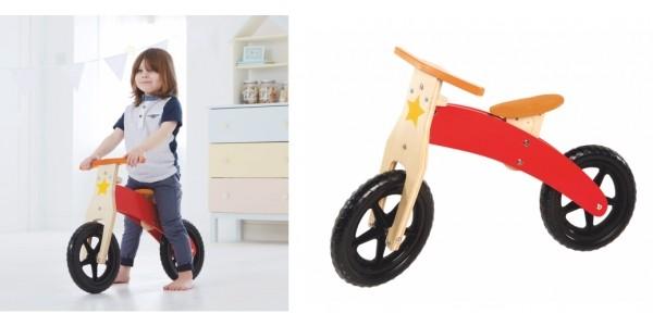 Wooden Balance Bike £17.50 (was £30) @ Asda George