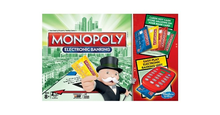 FREE Electronic Monopoly Game Board @ Smyths Toys (Expired)