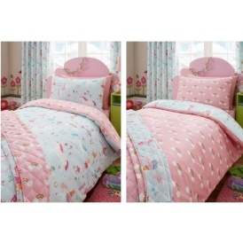 Unicorn Reversible Duvet & Pillowcase Set