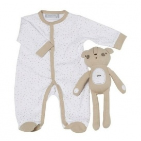 Sleepsuit With Personalised Toy £7.99 Del