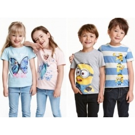 Character T-shirts 2 Pack £6.99