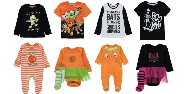 NEW Halloween Clothing From £2 @ Asda George