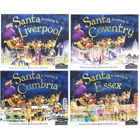 Santa Is Coming To Your Town Books Just £4
