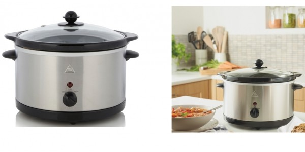 George Home 3L Slow Cooker - Stainless Steel £7 @ Asda George (Expired)