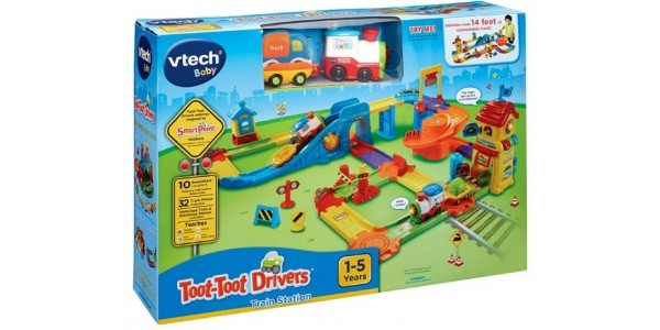 VTech Toot-Toot Drivers Train Station £24.99 Using Code @ Smyths