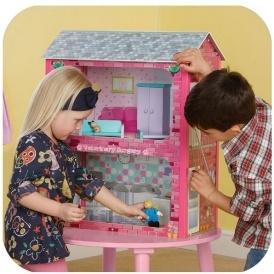 Plum Camden Court Wooden Doll's House £14