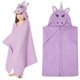 Unicorn Hooded Towel £7 @ Asda George