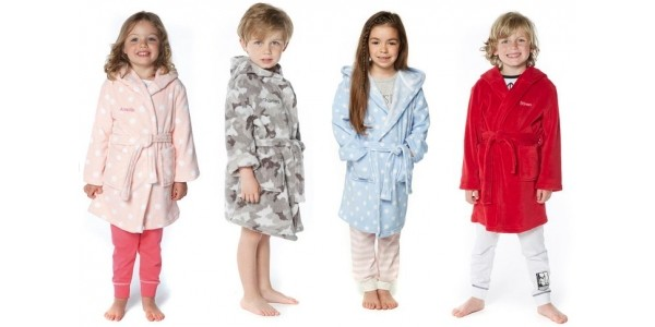 Kids Personalised Robes £6.99 Or 2 For £10 @ Studio