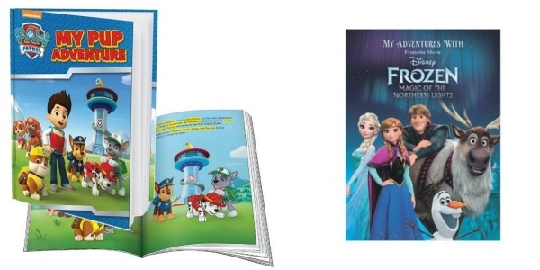 Personalised Adventures Books (Inc Paw Patrol) £9.99 Delivered (With Code) @ Studio