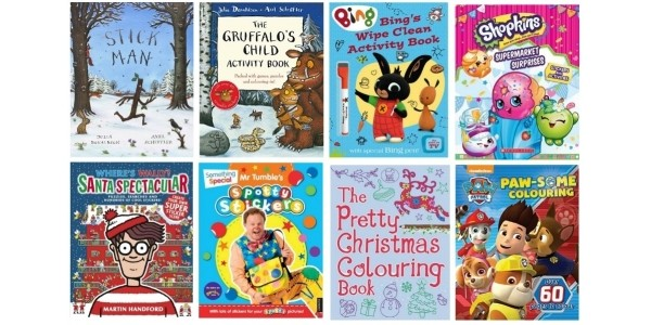 4 For £10 On Kids Activity, Sticker & Board Books @ Amazon