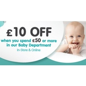 £10 Off Baby @ Smyths