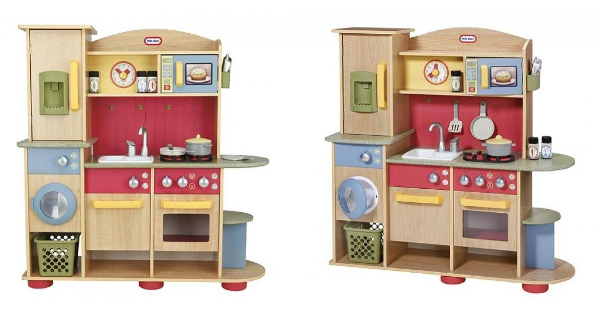 60 off little tikes premium wooden kitchen