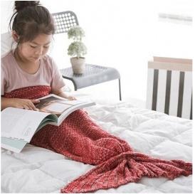 Mermaid Tail Blanket Just £8.99