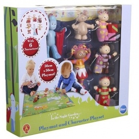 In The Night Garden Figures & Playmat £7.50