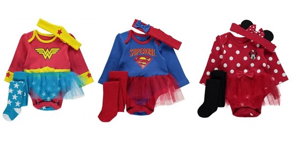 Baby Girl 3 Piece Fancy Dress Sets £8 @ Asda George