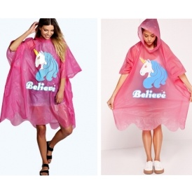 Ladies Unicorn Poncho £5 @ Boohoo