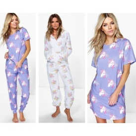 Ladies Unicorn Nightwear