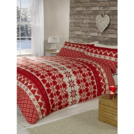 Norwegian Stag Christmas Duvet Set