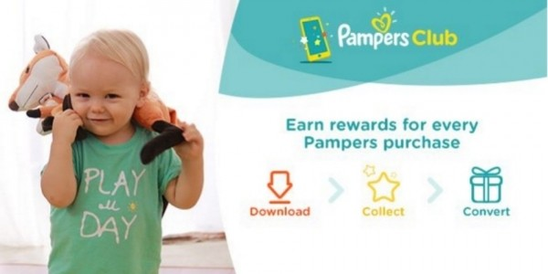 FREE Pampers Club App: Get Points With Every Pampers Purchase