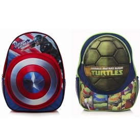 Captain America / TMNT Rucksacks £4