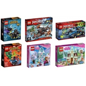 Lego: A Third Off + 3 for 2 + £5 Voucher