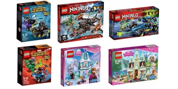 LEGO OFFER STACK: Up To A Third Off + 3 for 2 + £5 Voucher When You Spend £20 @ Argos