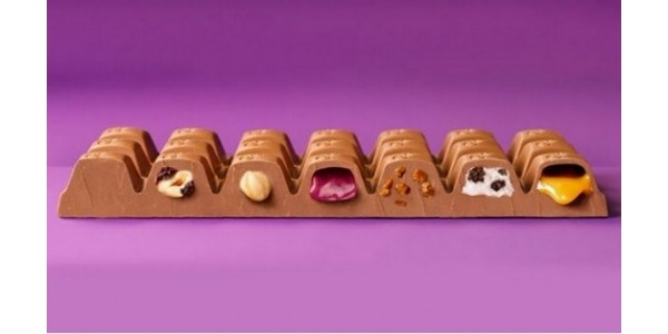 Chocolate Heaven... 7 Favourite Fillings In One Cadbury's Bar!