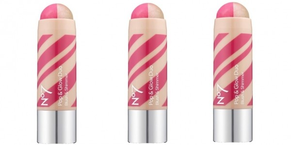 Three No7 Pop & Glow Duo Blush & Shimmer For Less Than The Price Of One @ Boots.com (Expired)