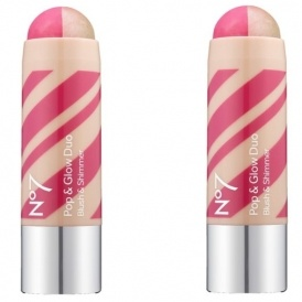 Less Than Half Price No7 Pop & Glow Duo